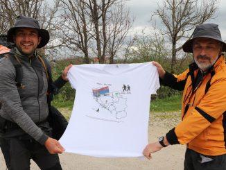 Leutar.net Prepješačili relaciju Beograd-Trebinje: Deset dana hoda za humanost
