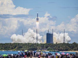 Leutar.net Ostaci kineske rakete pali u Indijski okean