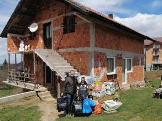 Leutar.net SOLIDARNOST LJUDI VELIKOG SRCA Pomoć za Jovančeta, malog malinara sa Manjače, stigla uoči Vaskrsa (FOTO)