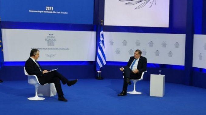 Leutar.net Neugodna pitanja grčkih medija za Milorada Dodika