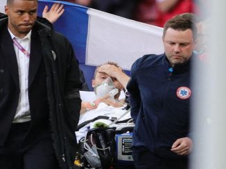Leutar.net UEFA je potvrdila na Tviteru da je Eriksen prebačen u bolnicu i stabilno je.