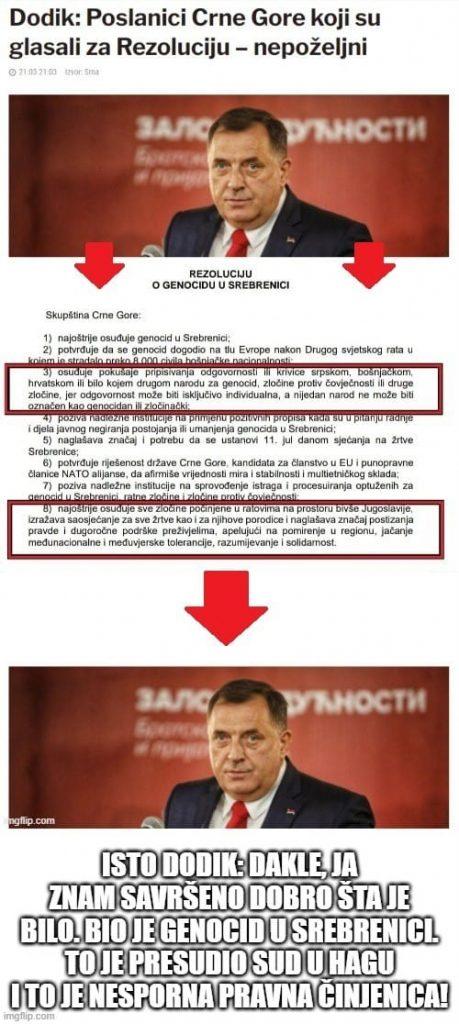 Leutar.net Dodik sam sebe proglasio nepoželjnim u Srpskoj