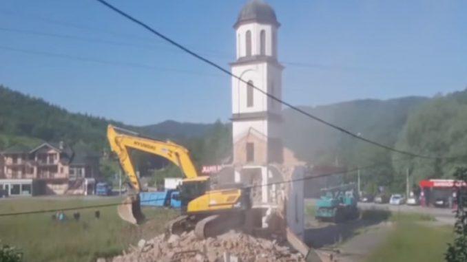 Leutar.net Dodik nekad: Iz inata Crkva neće biti srušena! Danas crkva srušena (VIDEO)