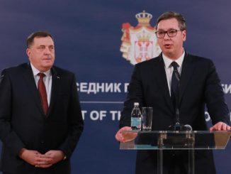 Leutar.net VUČIĆ SUTRA DODIKU URUČUJE NAJVIŠE ODLIKOVANJE: Orden Republike Srbije na velikoj ogrlici dobiće za naročite zasluge