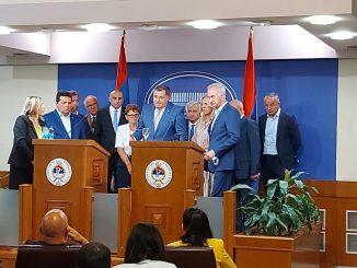 Leutar.net Potpis o srpskom jedinstvu još se nije ni osušio, a Dodik već potvrdio dolazak u Sarajevo