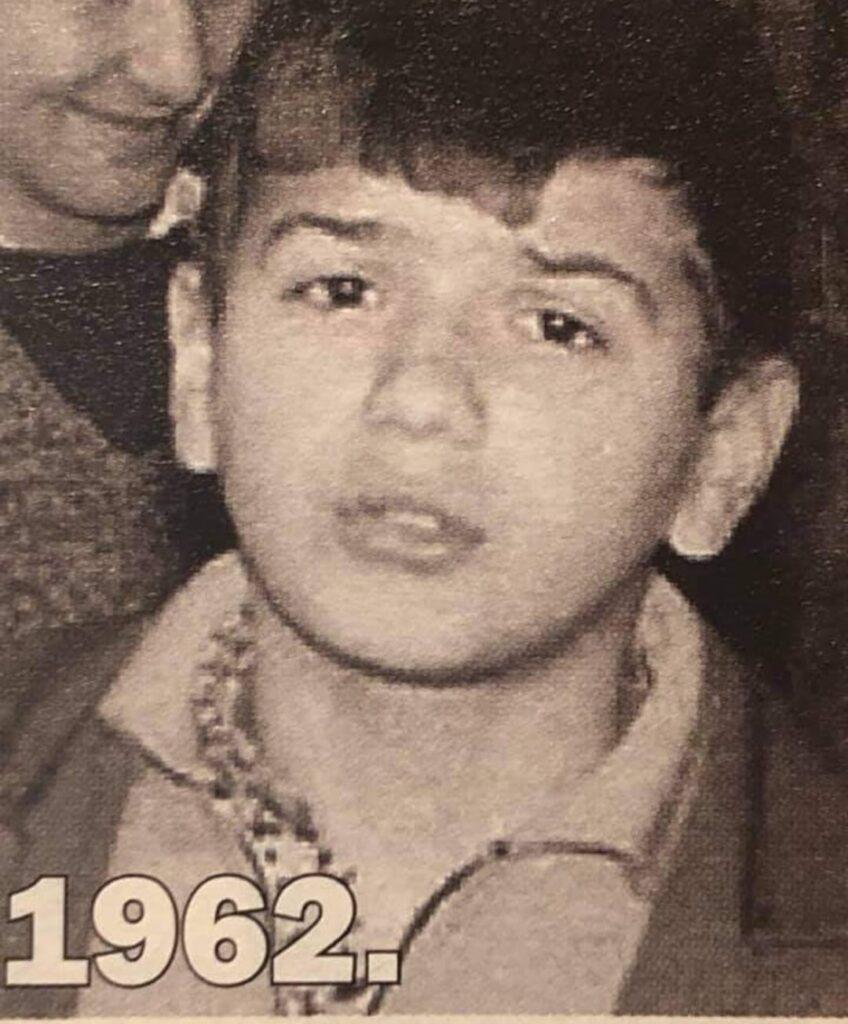 Leutar.net Zdravko Čolić objavio sliku iz djetinjstva: Pamtim kako smo se okupljali u Trebinju
