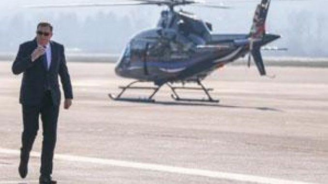 Leutar.net Nakon Erdogana i Dodik sletio na sarajevski aerodrom
