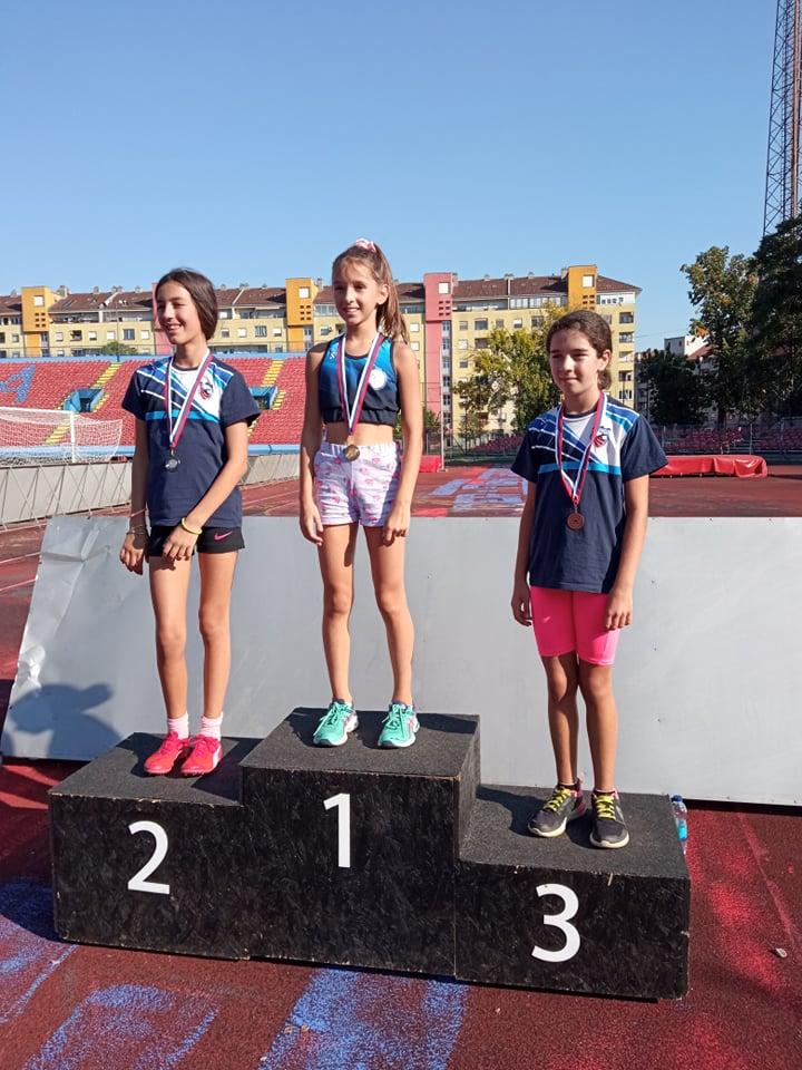 Leutar.net Atletičarke AK Trebinje na Prvenstvu RS za cicibanke osvojile 3 medalje