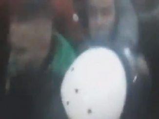 Leutar.net Abazović objavio snimak: Veljović započeo napad na policiju