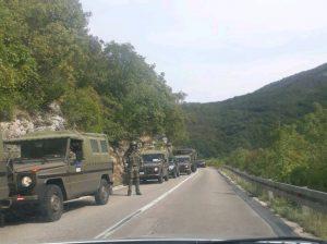 NATO trupe blokirale ulazak u Trebinje, građani uznemireni