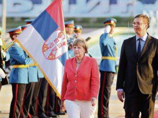 Leutar.net Merkelova sa Vučićem danas u Beogradu