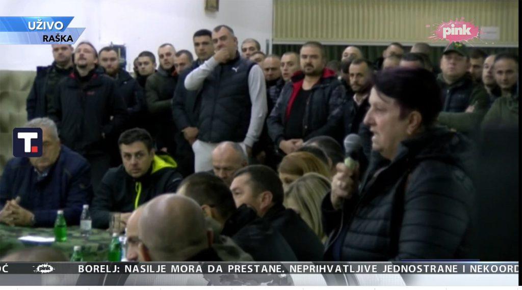 Leutar.net Vučić sa građanima u Raškoj: Mi ćemo sami da se branimo